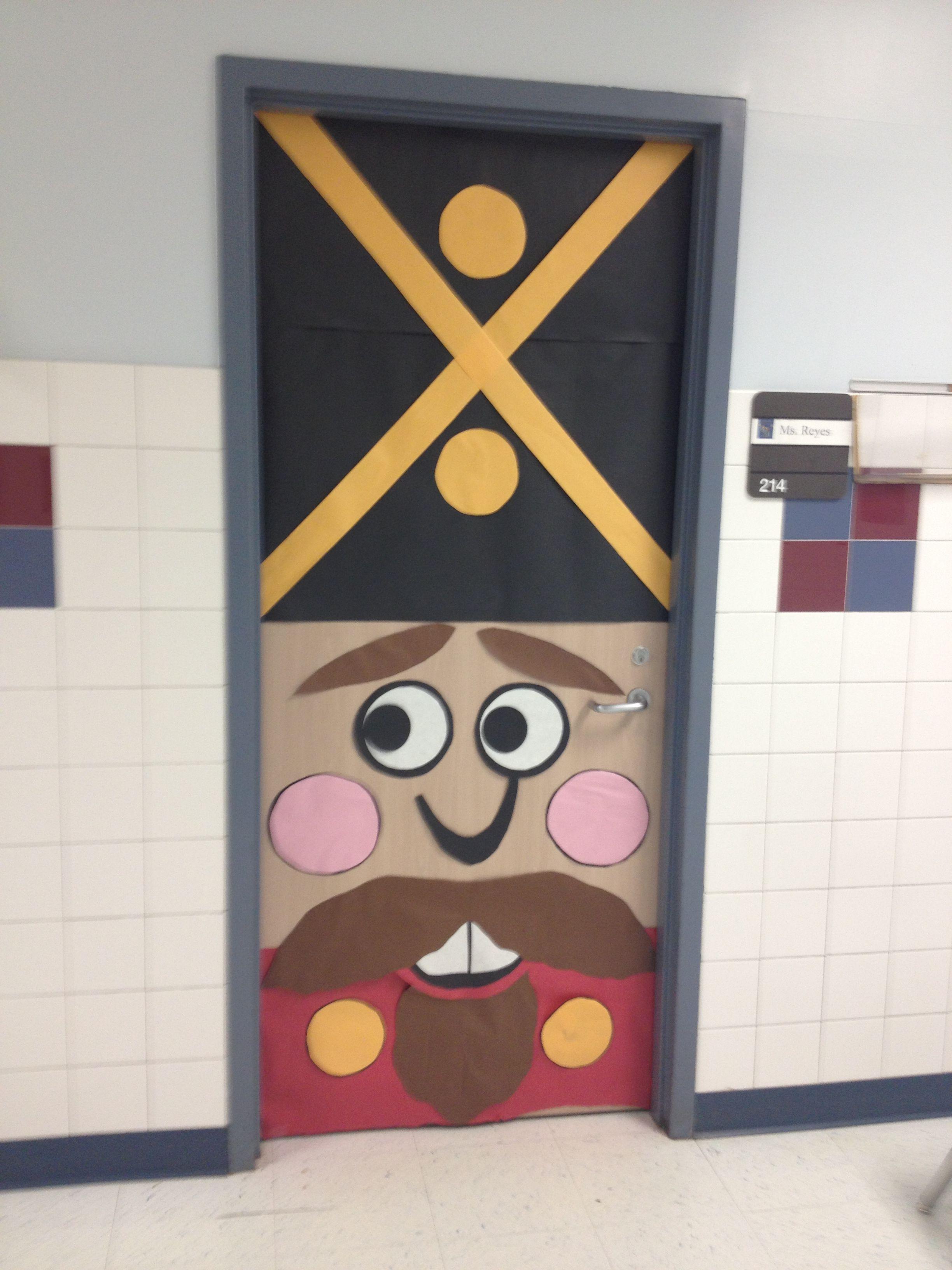 Nutcracker Door 2   Cloverleaf Teachers   Pinterest ...