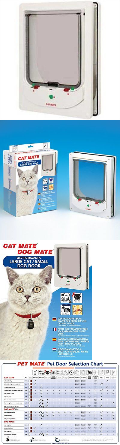 Dogmate Electromagnetic Dog Door Image Collections Doors Design Modern