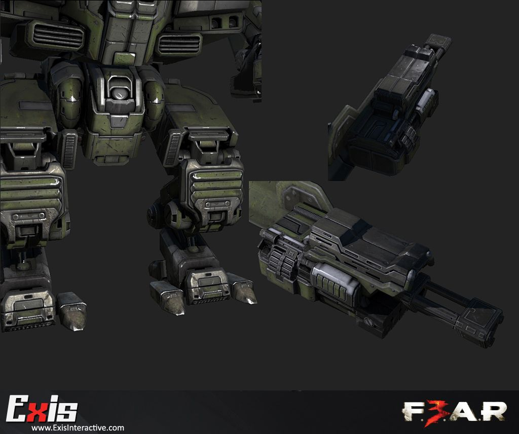 Fear 3 game art by exis interactive fear 3 game art fear