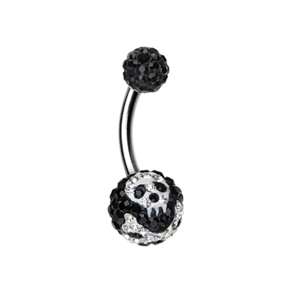 Treasured Pirate Multi-Sprinkle Dot Belly Button Ring