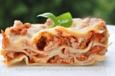 Lasagne Z Miesem Mielonym Przepis Kulinaria Lasagne Lasagna I