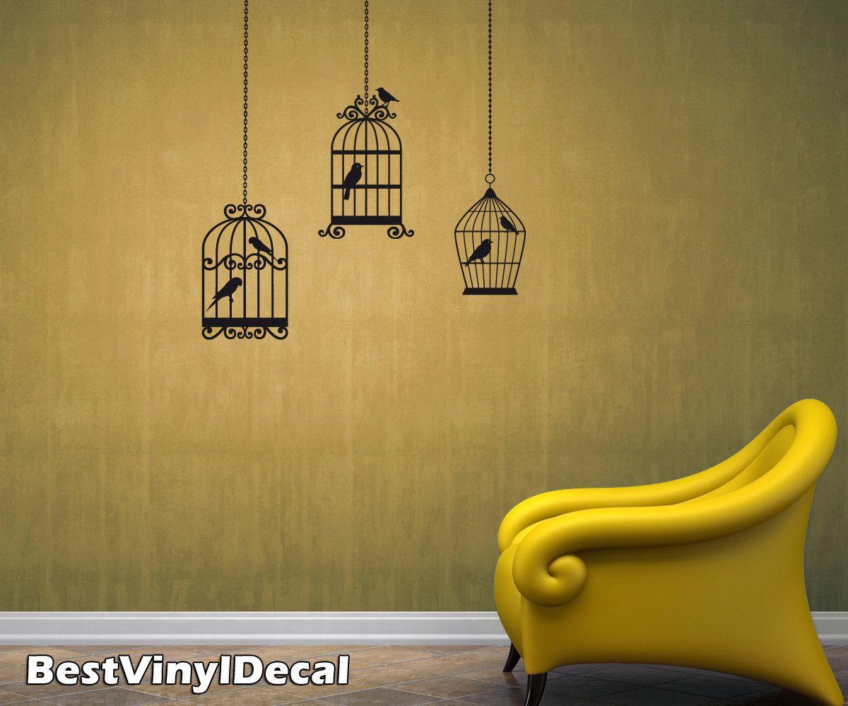 Bird wall decal   Eve\'s Nursery   Pinterest   Wall sticker art ...