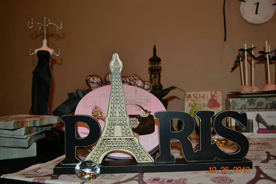 Paris Party Paris Theme Sweet 16 Vanessa S Paris