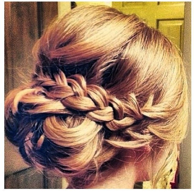 Wedding Party Hairstyle For Thin Hair: Luau Party! Would Be Cute For A Kid's Birthday! JEN LOOK