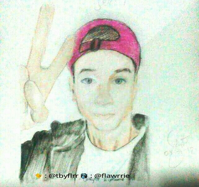 This is an image of Monster Daniel Seavey Drawing