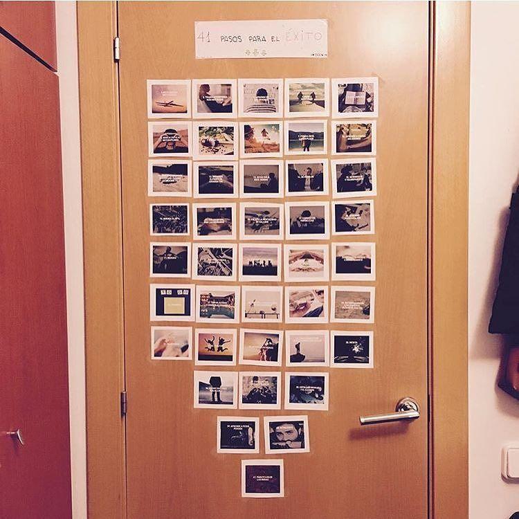 Mis 41 pasos del éxito en la puerta de @abriltorradas! Es una pasada ver como le dais vida  #euge