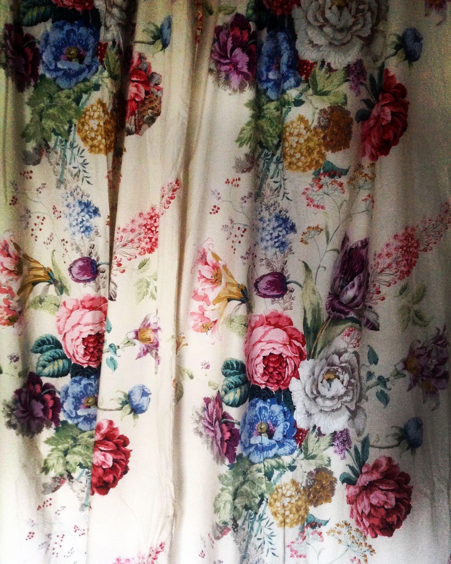 Gorgeous Vintage Sanderson Fabric Textiles In 2019