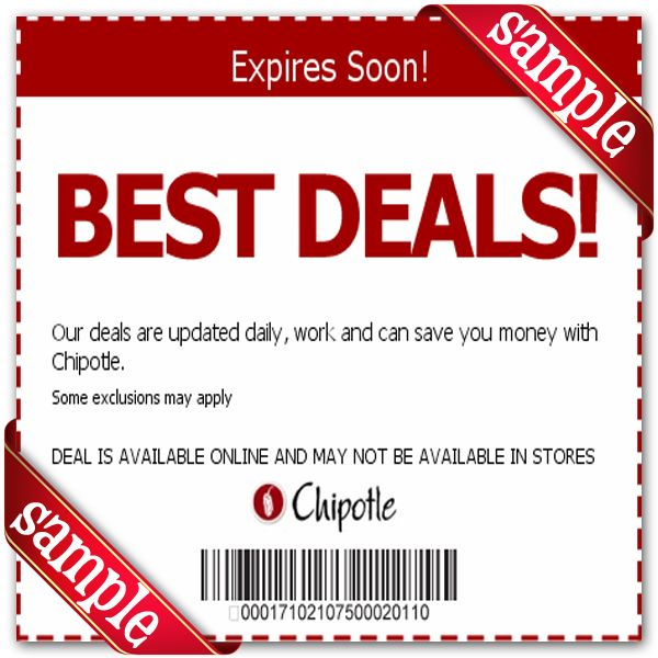 image relating to Chipotle Printable Coupons titled Chipotle Mexican Grill Printable Coupon December 2016