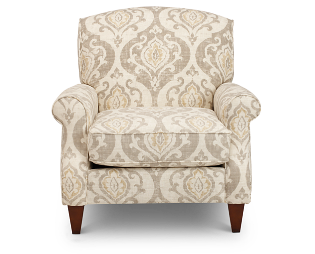 Fresh Beige Accent Chair Decoration Ideas