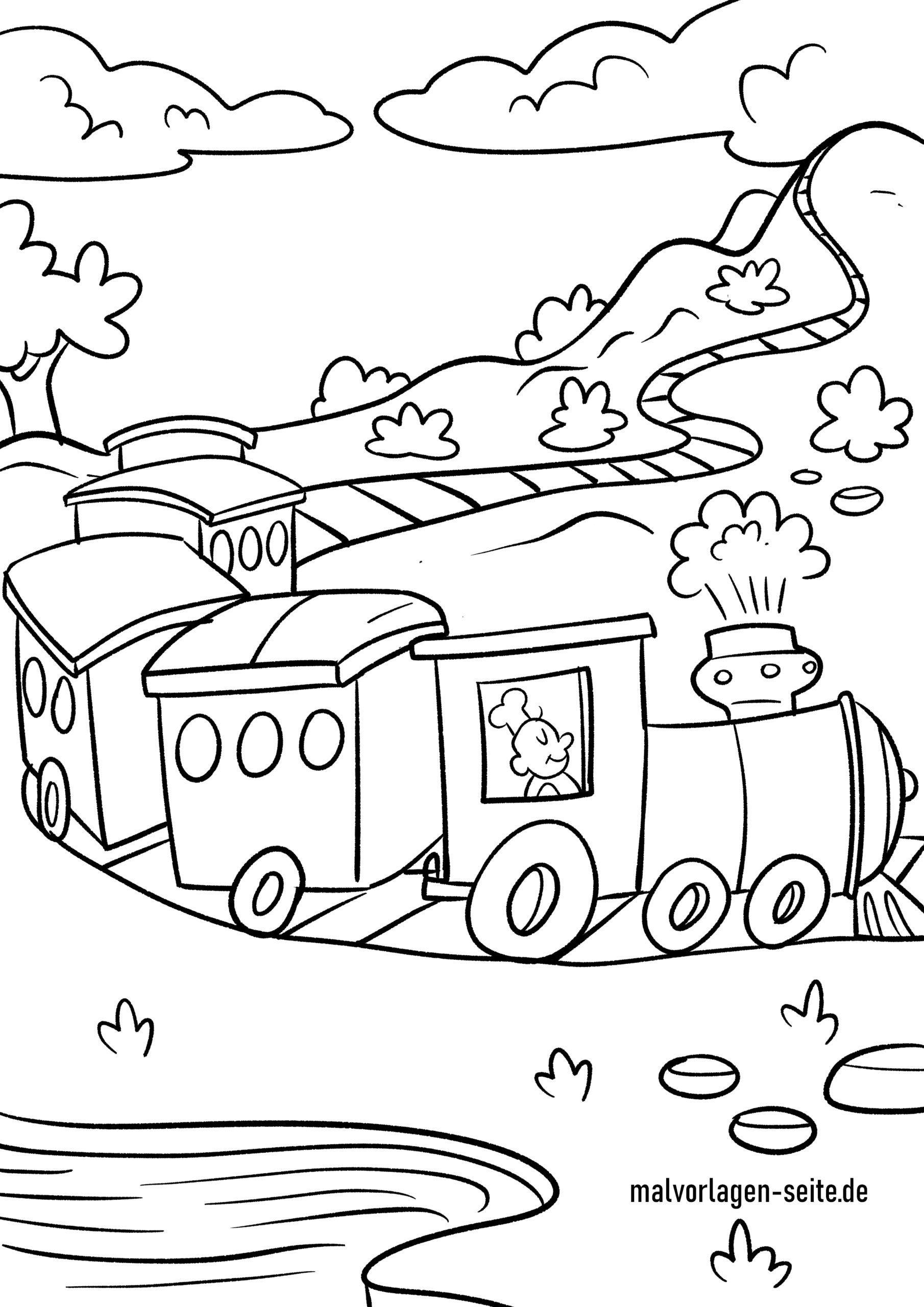 Ten Besser Eisenbahn Malvorlage Auffassung 2020 Malvorlagen Vorlagen Malvorlagen Gratis