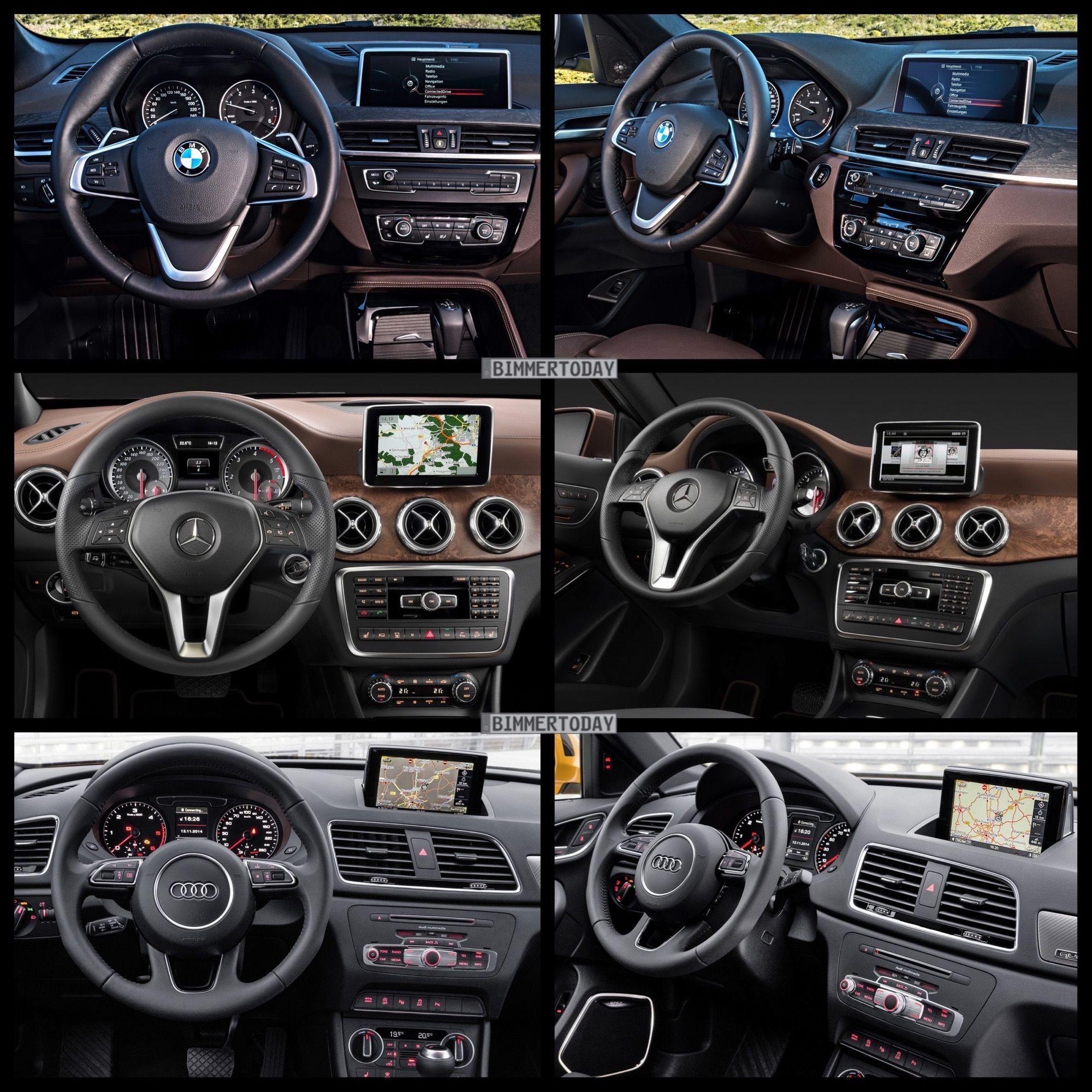 2016 Bmw X1 Vs Audi Q3 Vs Mercedes Gla Photo Comparison Audi