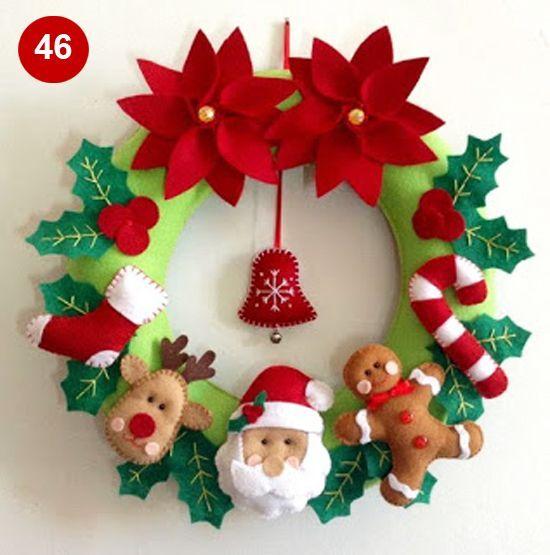 Guirlandas de Natal navidad Pinterest Navidad, Adornos