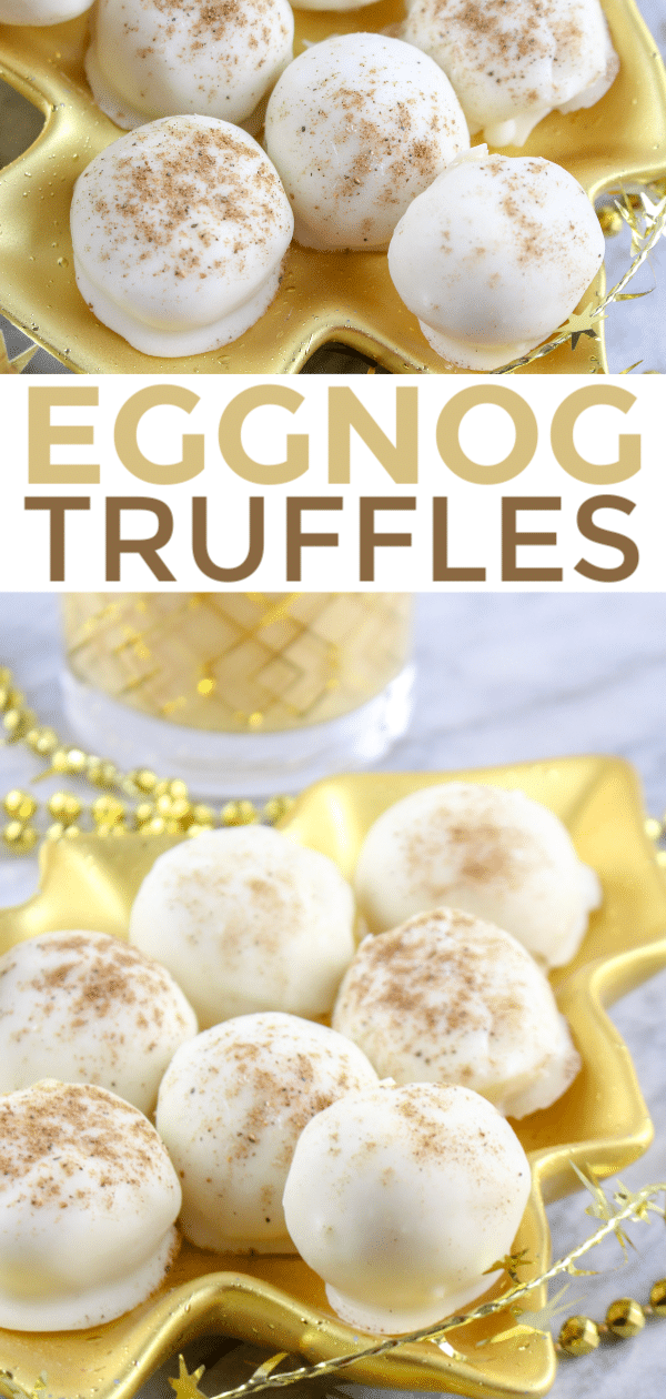 These Eggnog Truffles Are So Yummy And Perfect For Christmas Give
