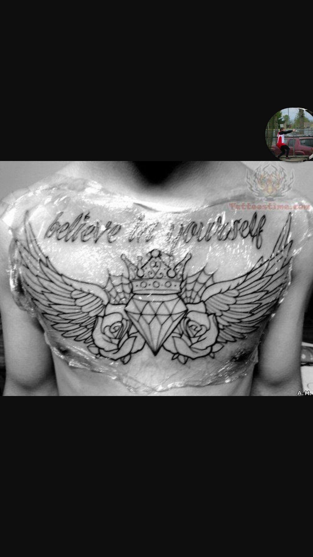 Pin von Ciera Eisele auf sternum tattoos | Pinterest