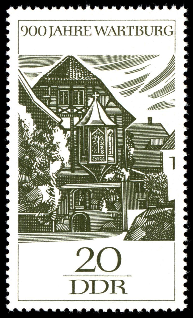 Germany (DDR) 1966 Wartburg bei Eisenach (Thüringen