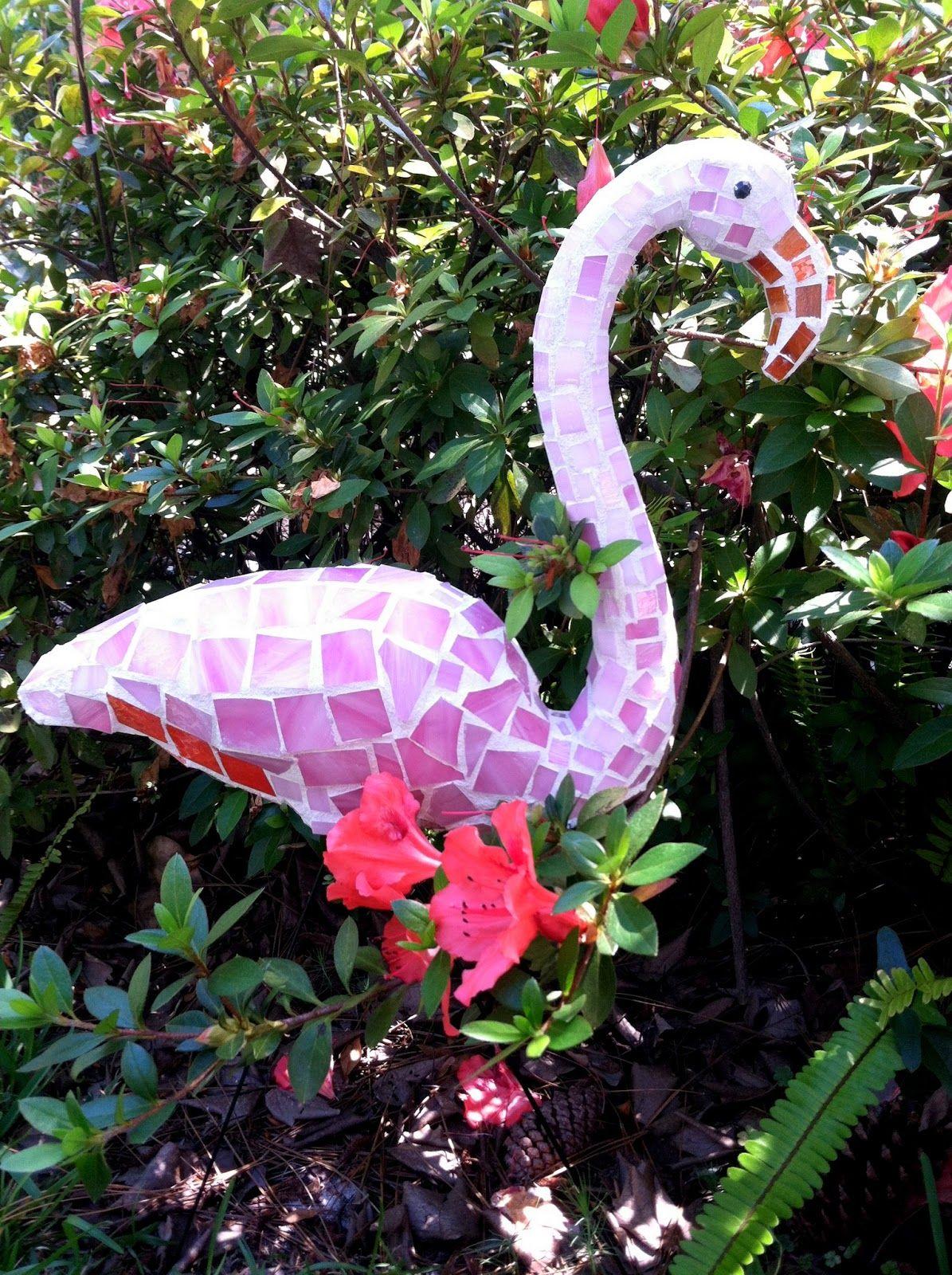 creative diy garden mosaic projects garden ideas pinterest