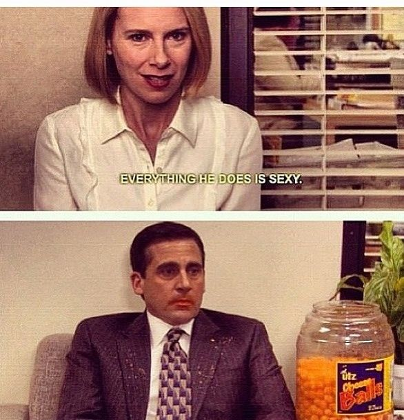 Michael And Holly The Office Holly The Office The Office Show Office Jokes