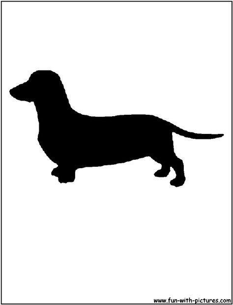 Black And White Dachshund Bing Images Dachshund Silhouette