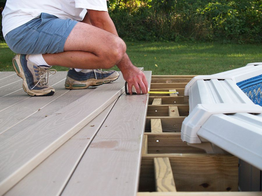 Above ground pool pictures with decks building an above - How to build an above ground pool ...