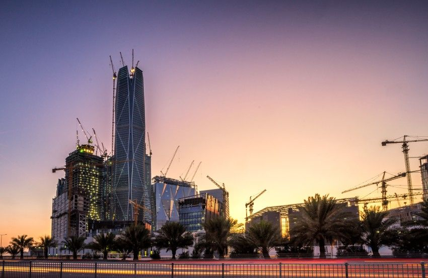Pif Tower Architect Magazine Hok Omrania Riyadh Office New Construction Office Projects Saudi Arabia Omrania Riyadh Riyadh Saudi Arabia Saudi Arabia