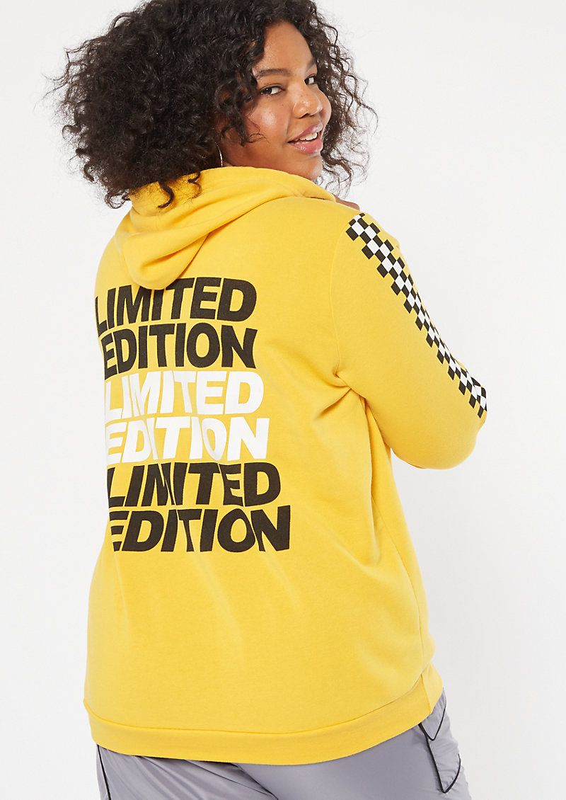 Plus Mustard Limited Edition Graphic Hoodie 3