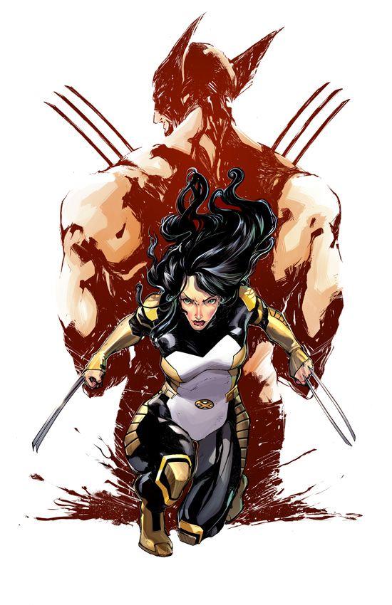 Laura Kinney Earth 616 October 2014 Logan And Marvel