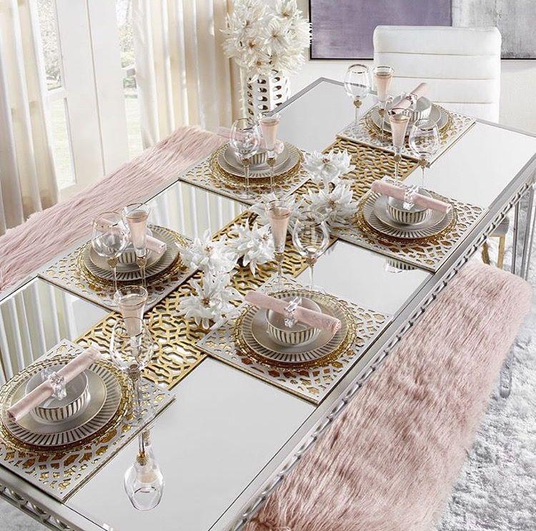 تنسيق طاولات Dining Room Table Decor Table Setting Decor Dining Decor