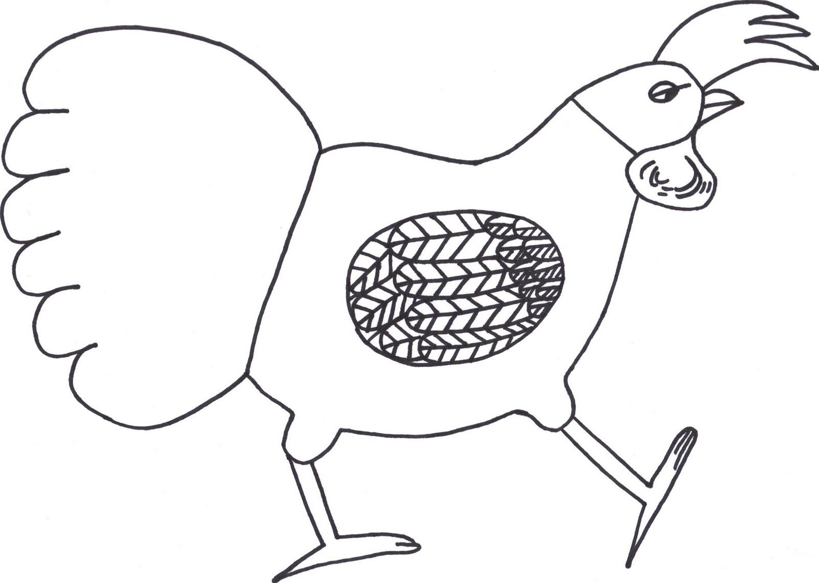 Free Coloring Pages Of Rosies Walk