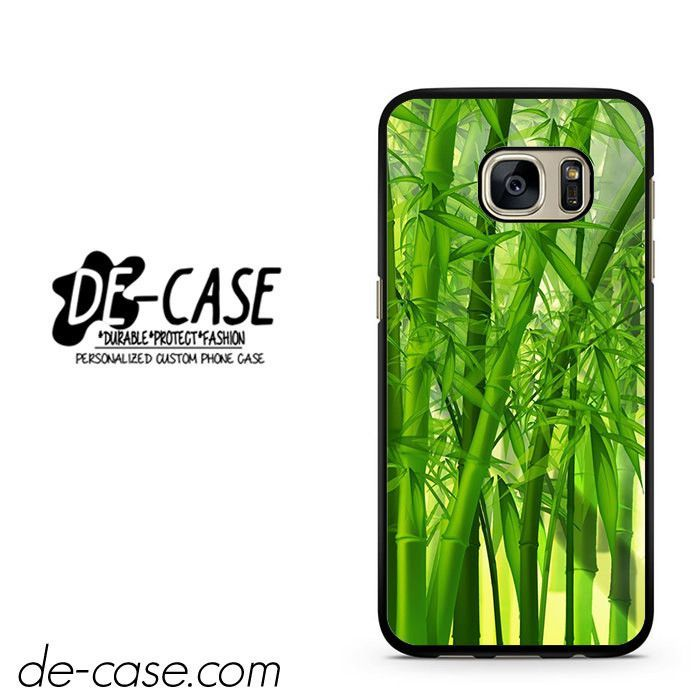 Green Bamboos DEAL-4841 Samsung Phonecase Cover For Samsung Galaxy S7 / S7 Edge