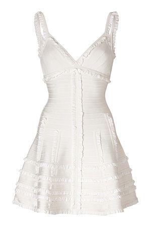 viewer  necklines for dresses short corset dress white