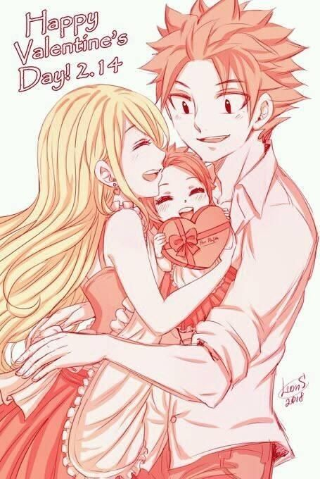 Happy Valentines Day Fairy Tail Kids Fairy Tail Characters