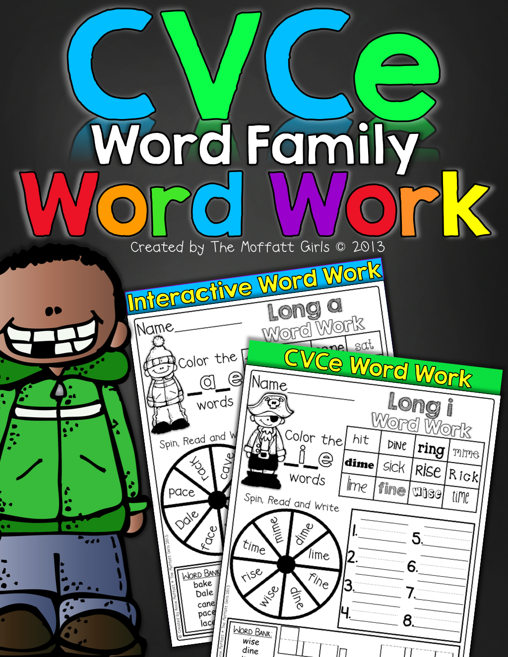 Cvce Word Family Word Work With Images