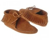 Fringed Moccasins, I had some just like these