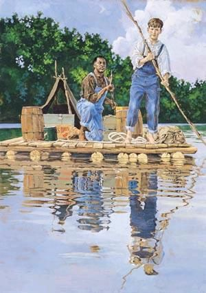 Big River, The Adventures of Huckleberry Finn is one of the greatest creations in American fiction. This tale of adventure and self-discovery begins on a ...
