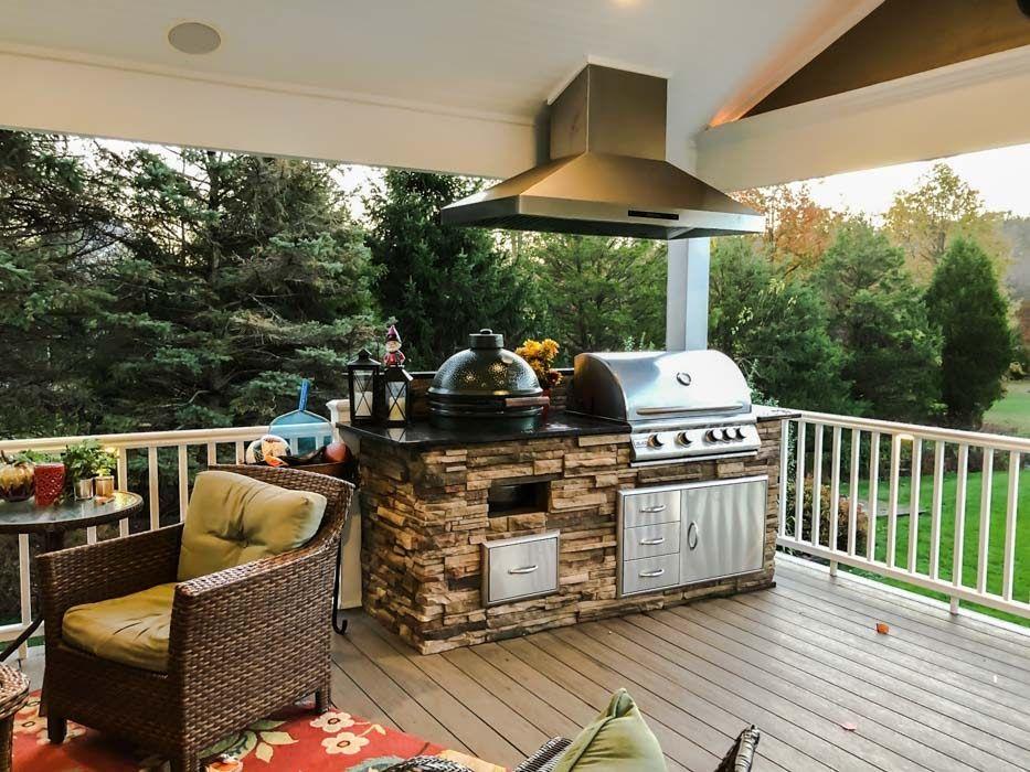 111 Inspirational Kitchen Hood Ideas In 2020 Outdoor Bbq Outdoor Kitchen Outdoor Bbq Grill