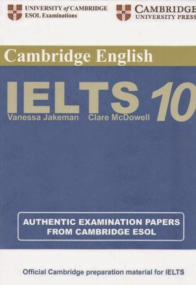 Cambridge Practice Tests for IELTS 10 Pdf +Audio +Answer Key