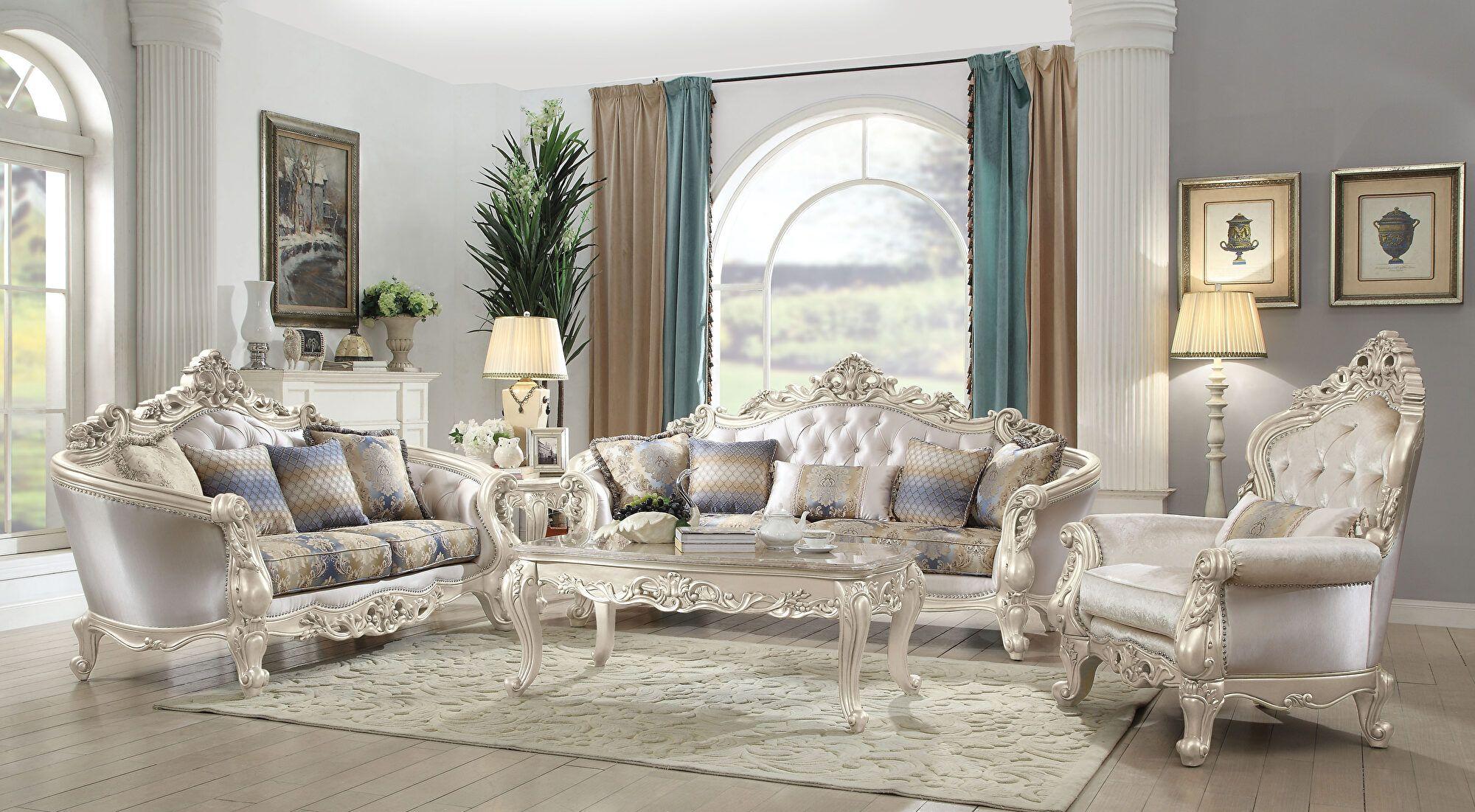 Gorsedd Sofa 52440 82440 Acme Corporation Fabric Sofas Living Room Sets Luxury Sofa Traditional Living Room Sets