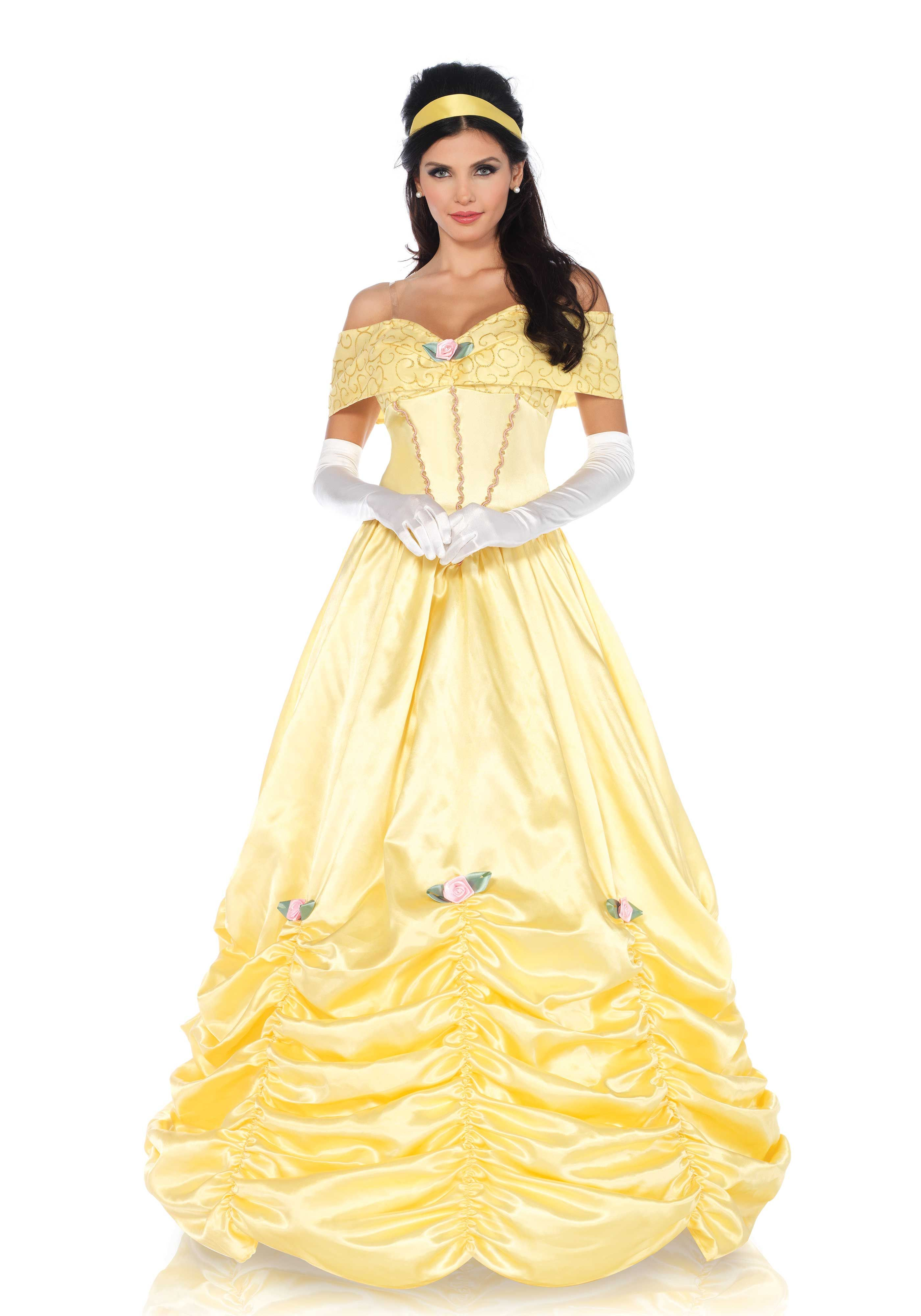 21eba8ad9be2a6 Leg Avenue Classic Beauty Costume #Disney #Belle #Beast #Yellow #Dress  #BallGown #Halloween #Princess #DressUp #Outfit