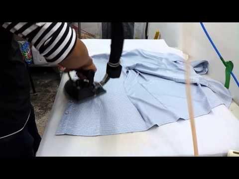 다림질 빨리하는법 와이셔츠편 Youtube 양재 바느질 패턴