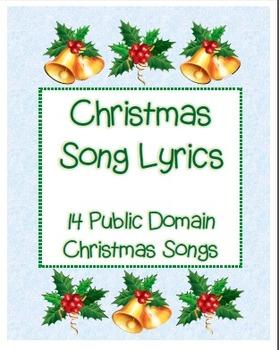 14 Christmas Song Lyrics - Holiday Sing Along | Christmas songs lyrics, Song lyrics, Lyrics