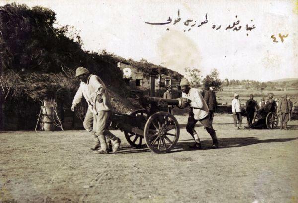 Çanakkale´de Torpil Topu -1915