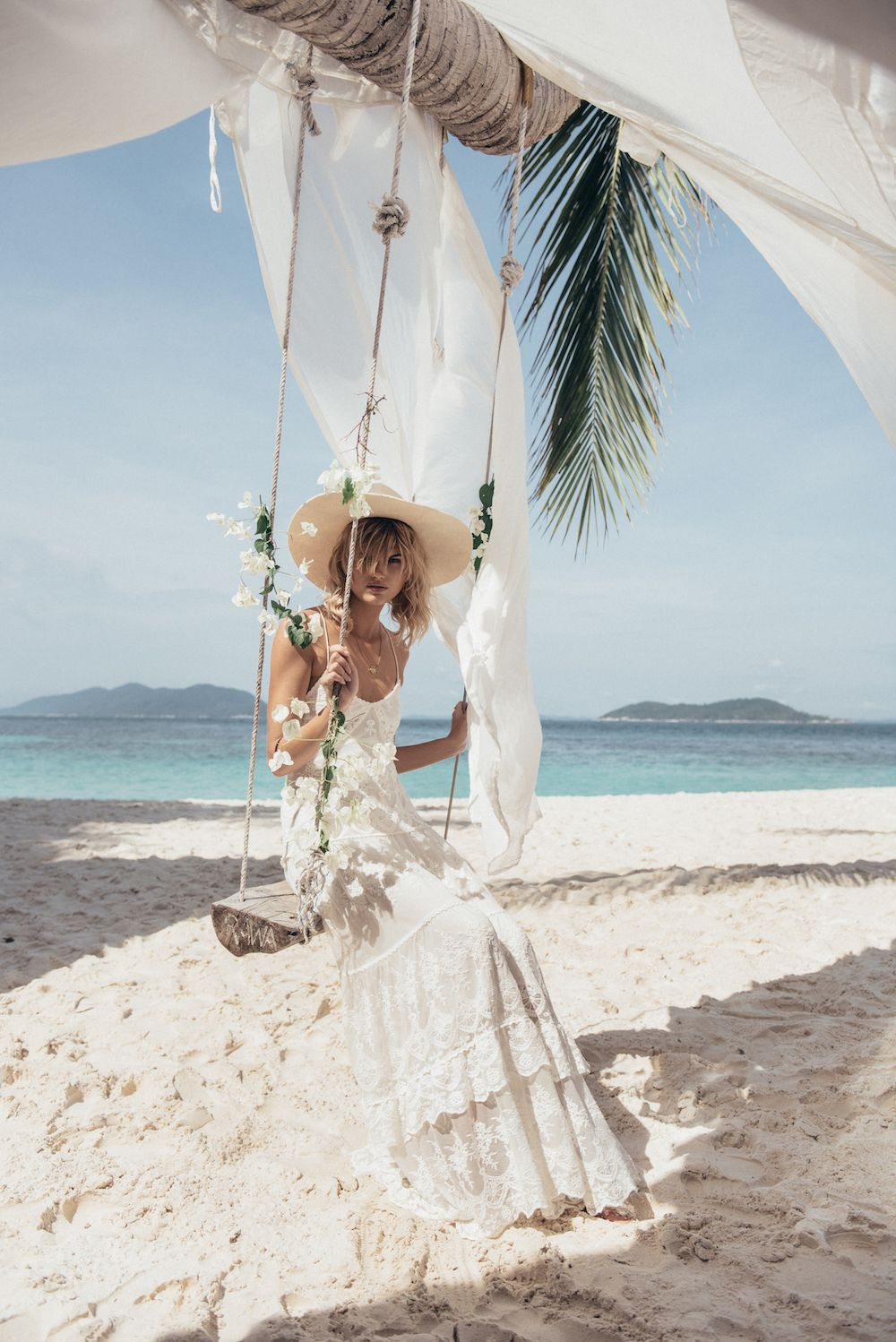 Boho wedding dresses for Boho beach Brides from Spell Bride
