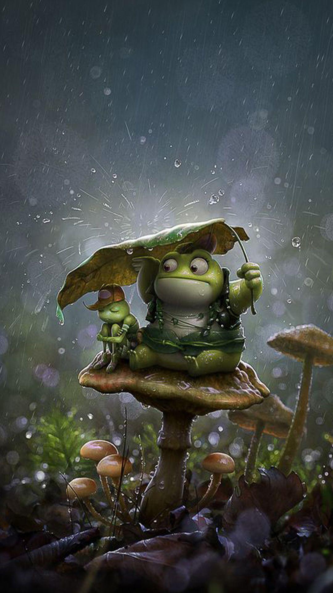 Frog wallpaper ...