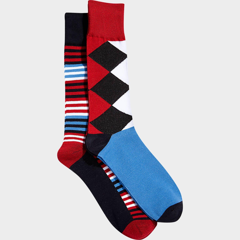 English Laundry Black Pattern Socks Men S Wearhouse English