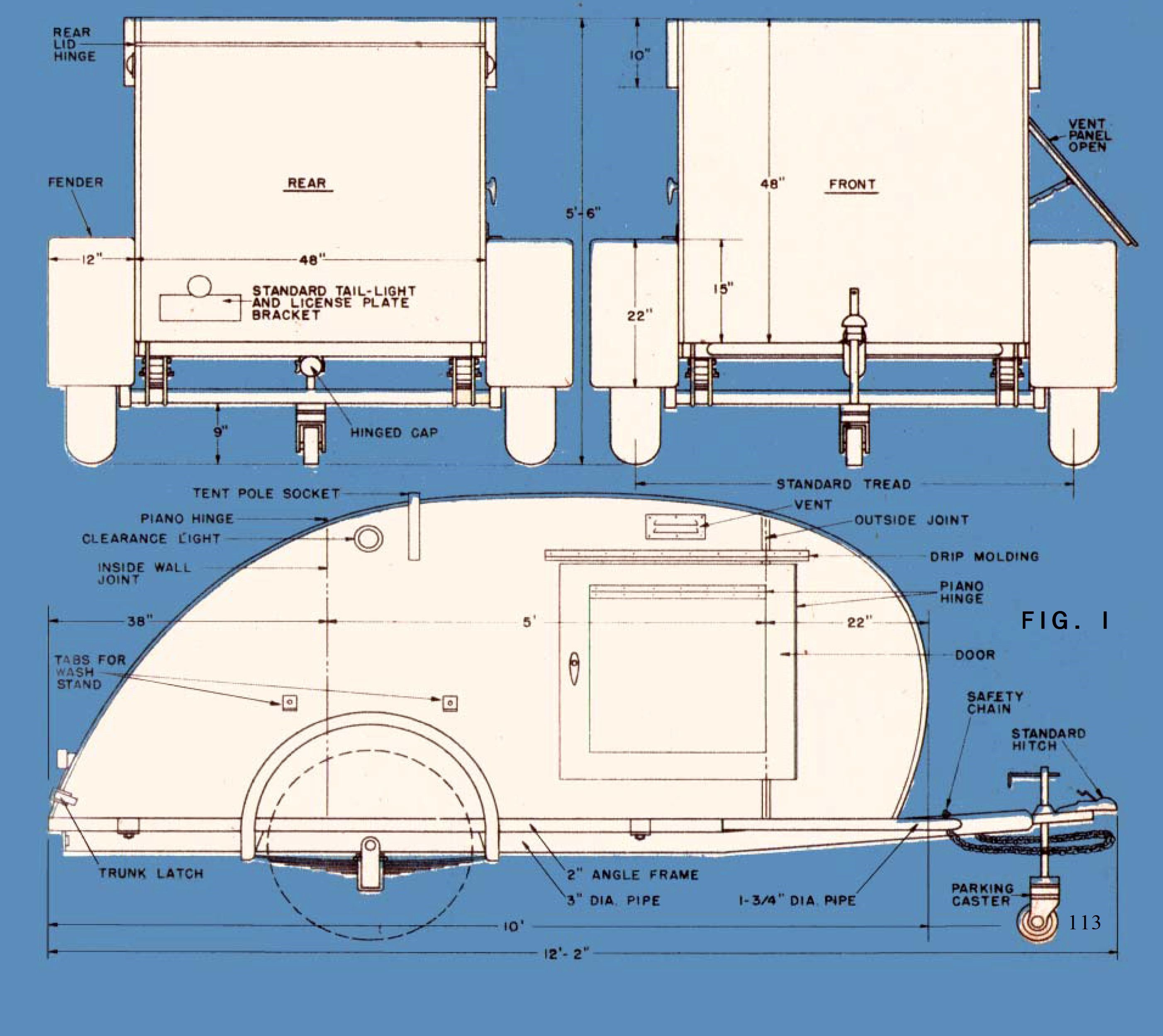 Trailer for two teardrop trailer camping and mini camper rv pooptronica Image collections