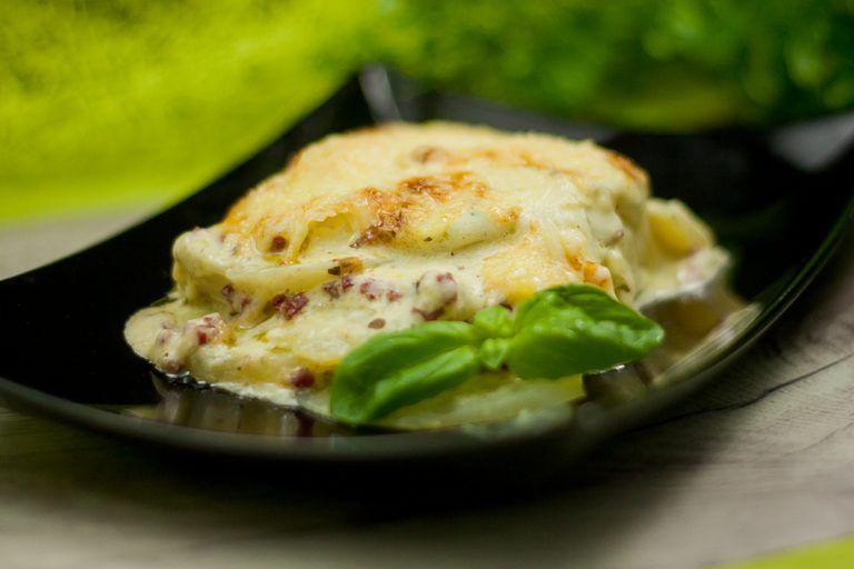 Nachgekocht: Falsches Kartoffelgratin - Low Carb und glutenfrei
