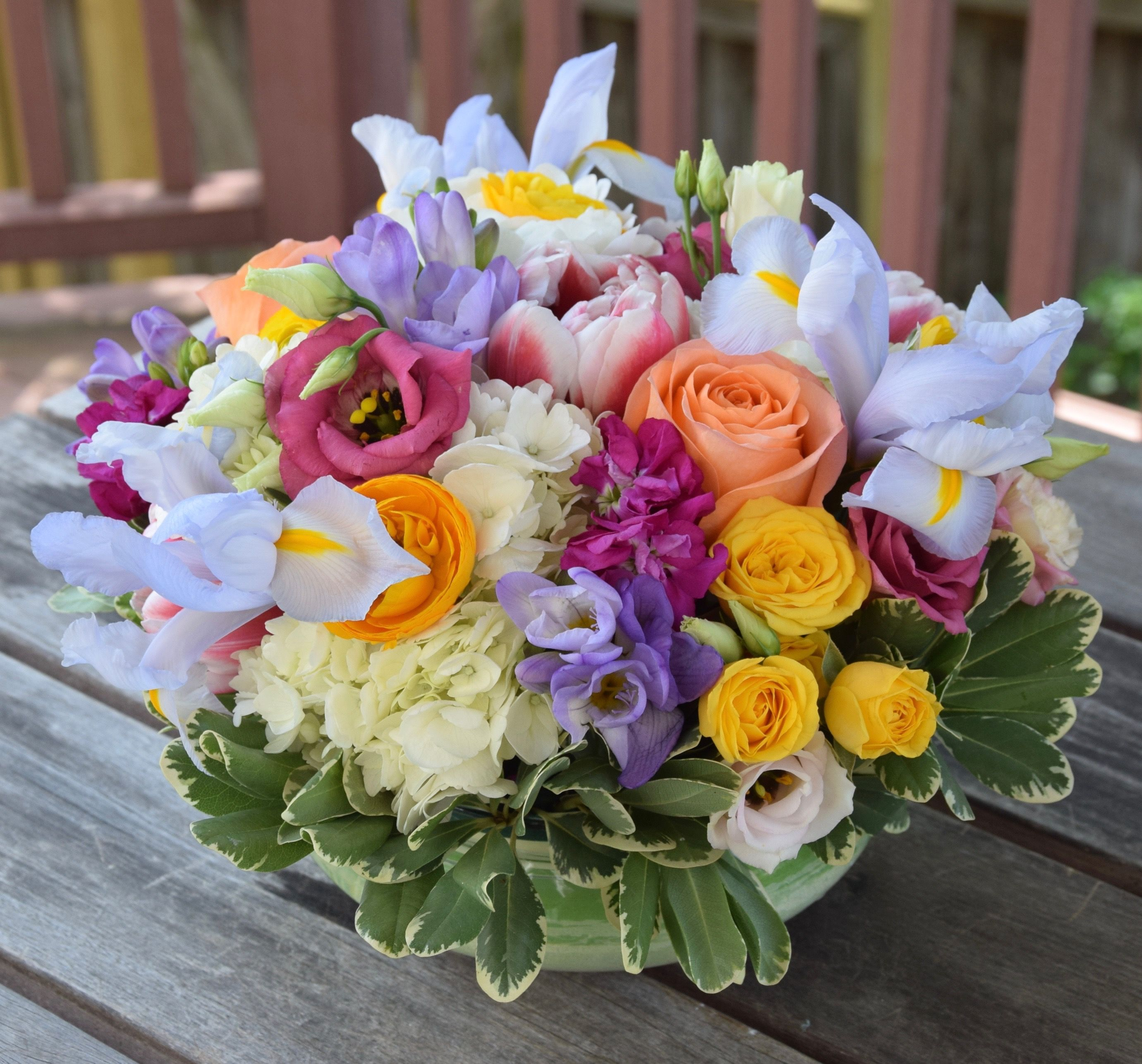 Flower Centerpiece For Mothers