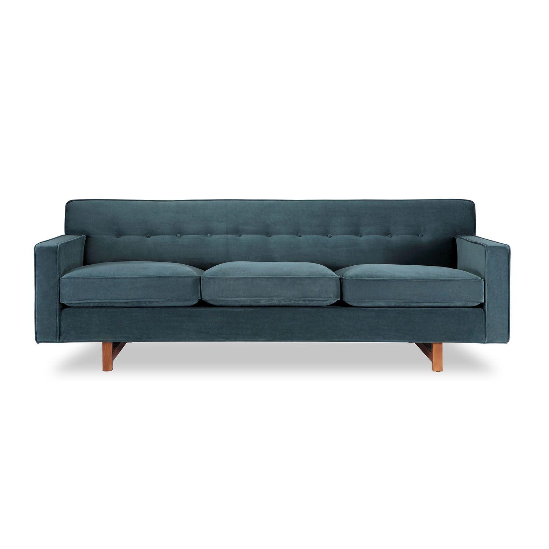 Kar l Kennedy Mid Century Modern Classic Sofa