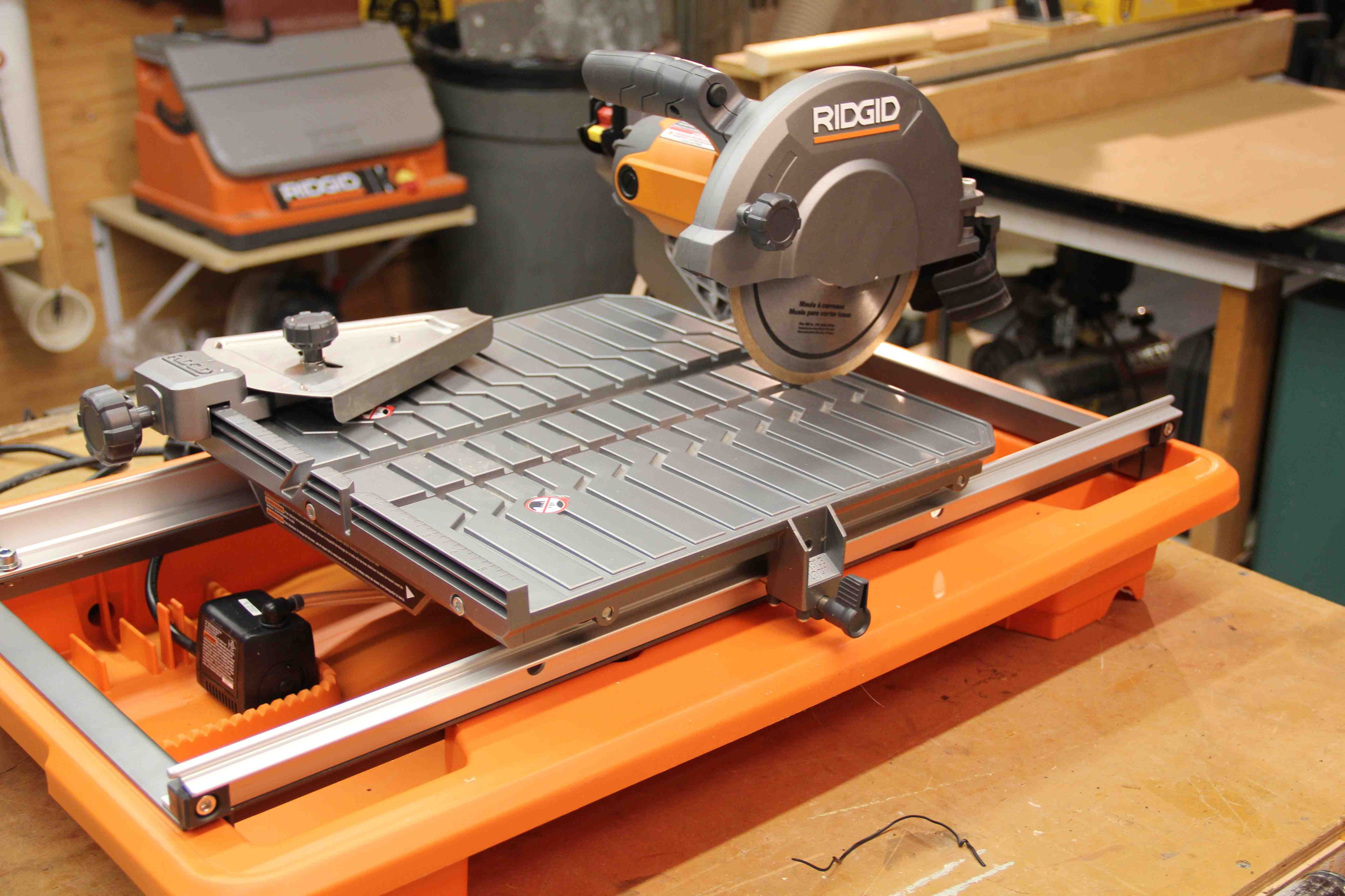 Win A Ridgid 7 Inch Tile Saw