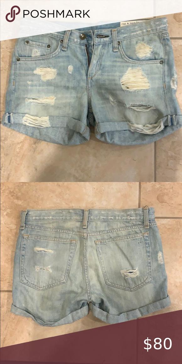 Rag & Bone jean shorts